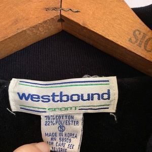 Vintage Pants - 🌸Vintage Westbound Velour Jumpsuit🌼